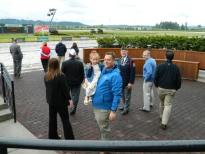 3. Ken P. in winners circle USO Purse